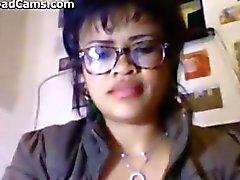 Latince Glasses giyilmesi Girl