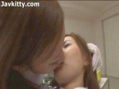 Aasian Lesbo Hammaslääkäri - Japani