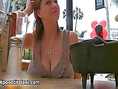 Big natural tits babe Sara Stone showing