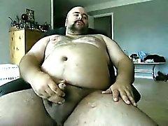 Danish grabben - Bear gör ett nytt jerkoff i efter ett inspel ...