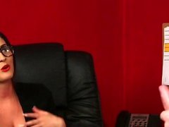 Mean cfnm domme watches