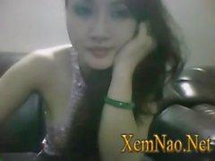 Eva Thuy Kieu show vu to chay nuoc part 2 xemnao