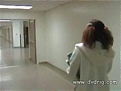 Jovem estudante chocolate escuro vem para o dormitório e recebe sua primeira DP