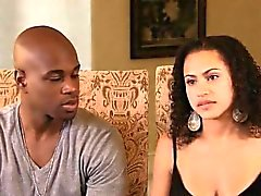 Interracial couple learns the secrets of masturbation