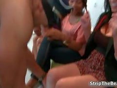 Horny hot women go crazy jerking part1
