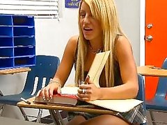 InnocentHigh Bigtits blonde schoolgirl teen Holly