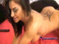 shebang - Sexy brunette Dionne Mendez masturbating