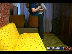 Mature Russian Pussy Gets Fucked