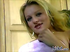 Naughty vaaleita Teen Jessican rakastaa asiaa anaaliseksiä