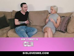 Horny young blonde attention seeker cute girl Cleo Vixen