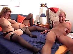Chubby german amateur swingers