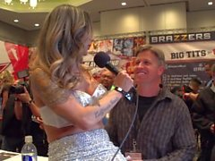 Nadia Styles is a Horny Host 2015 AVN Audience Interviews