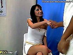Ass massage play in porn movie