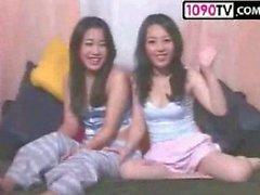 Korea ThreeSome Live Nude And Hardcore Fuck - porndl.me - load.vn