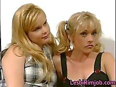 Chicas lesbianas súper cachondas que tengan