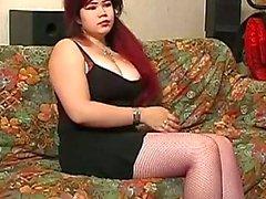 Bondage Punishment for slut Tatjana