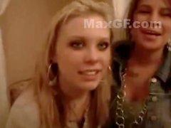 2 Hot Blonde Girls Kissing Lesbiansss REALLY HOT