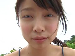softcore asian teen tease in swimsuit