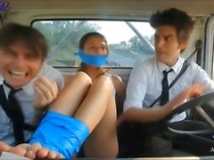 Giorgia Crivello bound and gagged feet