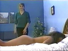 Ebony Spanked and Fucked with Strap-on