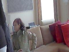 Dois adolescentes tímidos senhoras - Casting primeiro