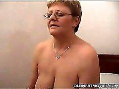 Horny Mature Giving a Blowjob
