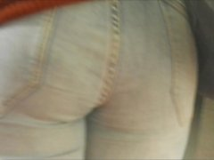 nice ass in tight jeans voyeur