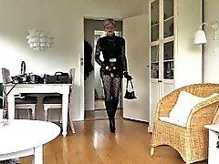 Hanımevladı Sexy Leather Doll