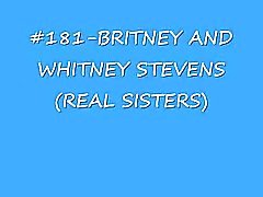 britney & whitney stevens (sisters) cumshot compilation (lord of cumshots)