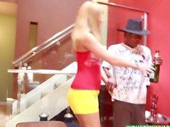 Blonde Latina PAWG fucks Black Cock after Cinco de Mayo Party