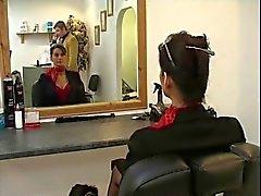Angie Giorgio di Vicky Valentino di una scena lesbico