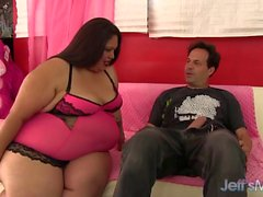 Fat and sexy Lorelai rides a fat dick