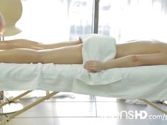 Massage with happy ending for both