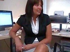secretary feet worship
