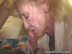 Mature Blonde Street Whore Sucking Dick For Crack Cash