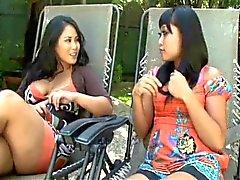 Yuki Mori and Jessica Bangkok - White Stepdaddy
