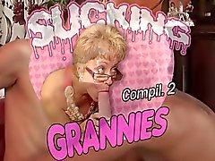 Hot Grannies zuigen Dicks Compilation 2