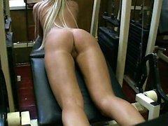 Hot Blonde Babe Masturbate