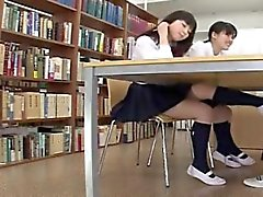 Friend Secretly Hide Under Desk Blowjob