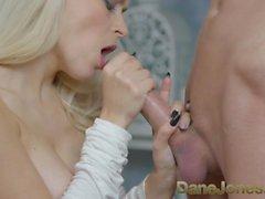 Dane Jones Hot fuck for deepthroating blonde
