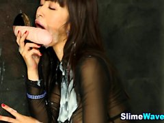Gloryhole loving asian
