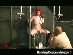 Chubby redhead slut with big tits gets part2