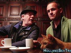 Holländare sköka äta