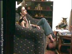 Watching TV with Bojana