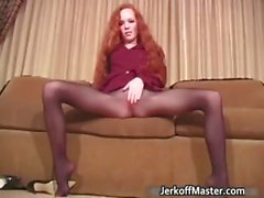 De chicas lindo del Redhead está quitando part2