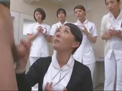 japanese nurse tech for semen extraction