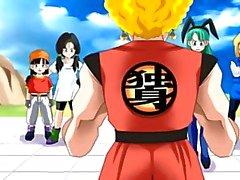 Hentai animasyon Dragon Ball Z seksi kadın kahramanları