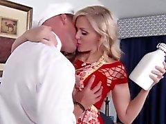 Verklig puman hustrun smaka SPERMA