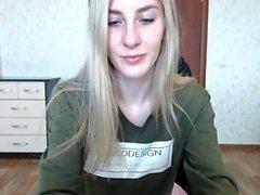 Gorgeous Webcam Model Lingerie Striptease