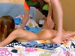 Derin gençler butthole penetrasyon